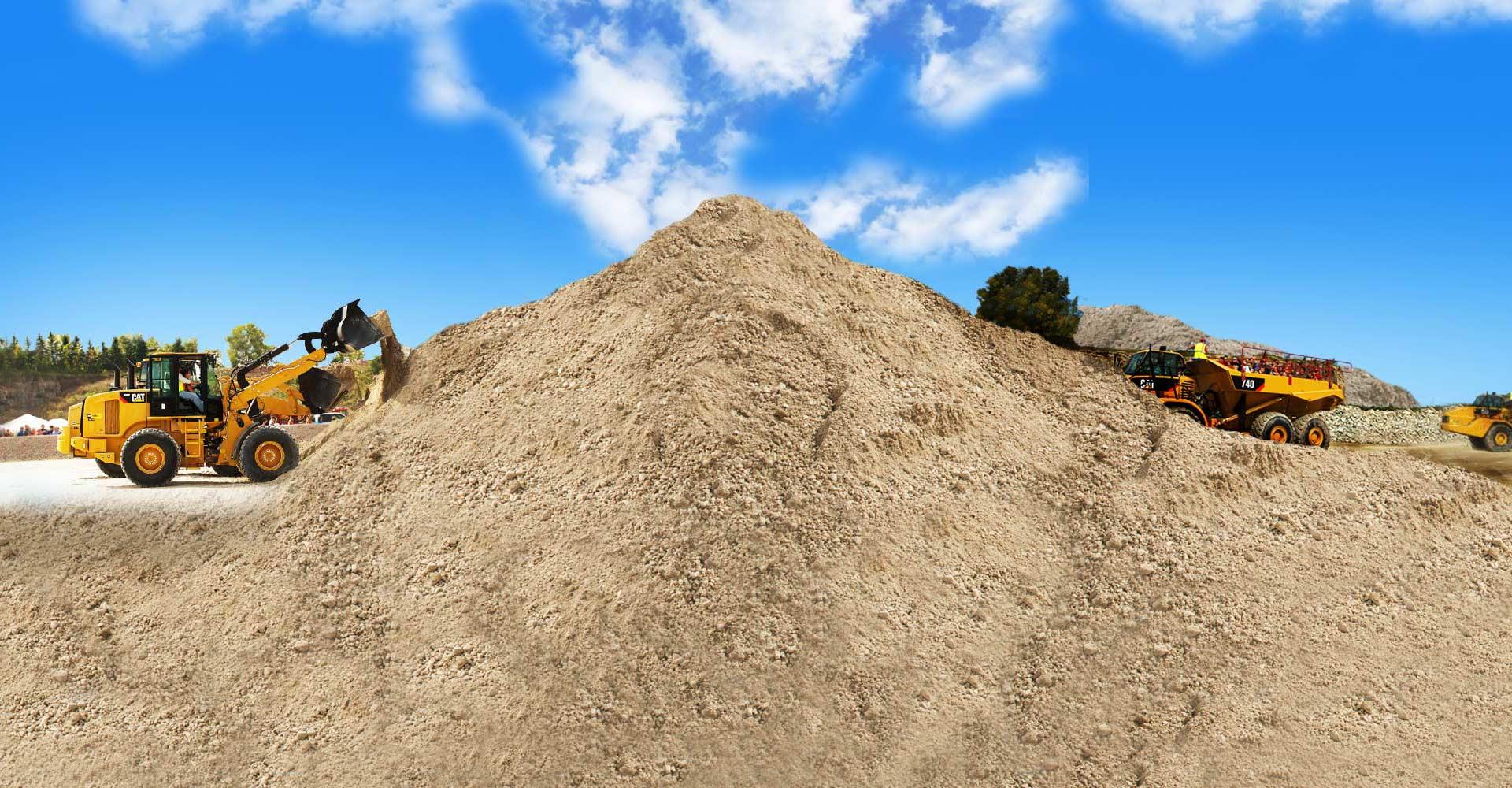 технический песок